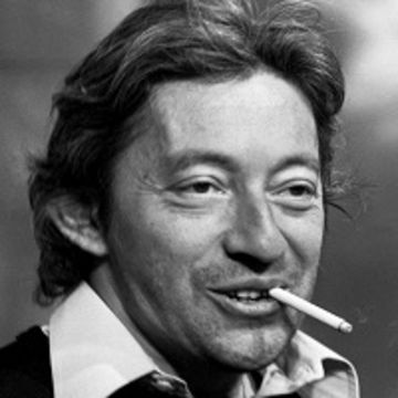 Chanteur Serge Gainsbourg