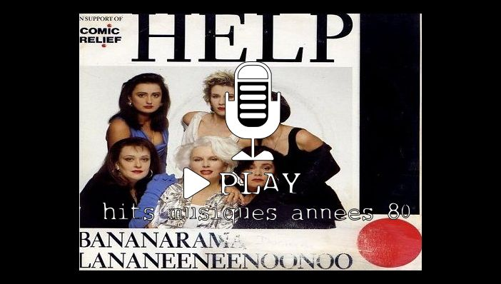 Bananarama Help (reprise Beatles)