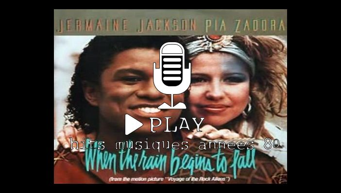 Jermaine Jackson & Pia Zadora When The Rain Begins to Fall