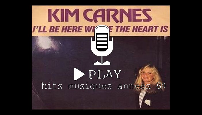 Kim Carnes I'll Be There Where The Heart Is  (film Flashdance)