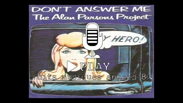 The Alan Parsons Project Don't Answer Me